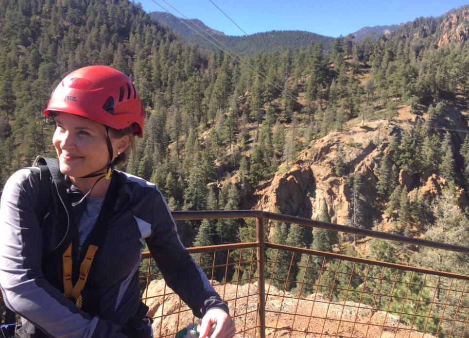 A zipline adventure with my father at The Broadmoor (Colorado Springs, Colorado)
